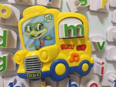 リープフロッグ  フォニックスのマグネット式おもちゃが効果大!