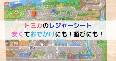 トミカのレジャーシート道路マップはお出かけにも便利!トミカの道路は不要