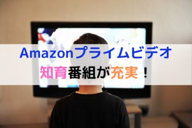 【保育士厳選】Amazonプライムビデオ知育番組が充実!