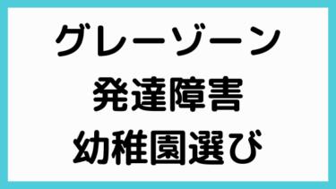 [幼稚園選びのコツ]発達障害・グレーゾーンの幼稚園選び プロが解説!