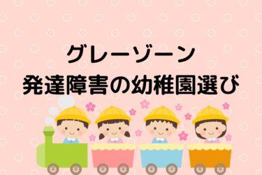 【幼稚園選びのコツ】発達障害・グレーゾーンの幼稚園選び プロが解説!